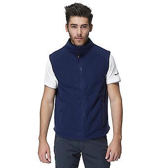 New Peter Storm Men's Stylish Warmth Full Zip Carrick Fleece Gilet Navy