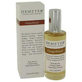 Demeter Gingerbread By Demeter Cologne Spray 4 Oz (mujeres) V728-426401