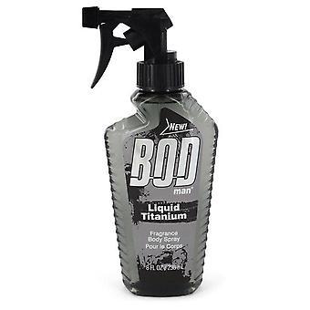 Bod Man Liquid Titanium Fragrance Body Spray By Parfums De Coeur 8 oz Fragrance Body Spray