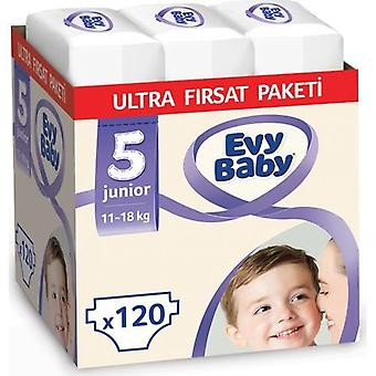 Evy Baby Diapers 5 Size