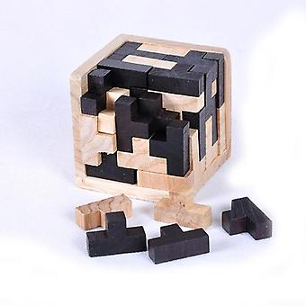 Educational Shape 3d Wooden Jigsaw Puzzle