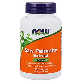 Now Foods Saw Palmetto Extract 80 mg 90 Softgels