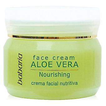 Babaria Crème Hydratante Visage 24h Aloe 50 ml