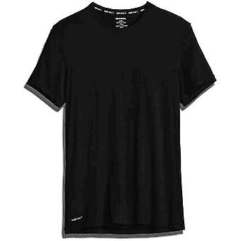 Calvin Klein Men''s Ultra Soft Modal Crew Neck Camisetas, Preto, XL