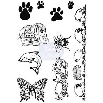 Sweet Dixie Clear Stamps - Animals Selection