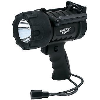 Draper Wpht5 Expert 5W Cree Led Waterproof Torch (3 X Aa Batteries)