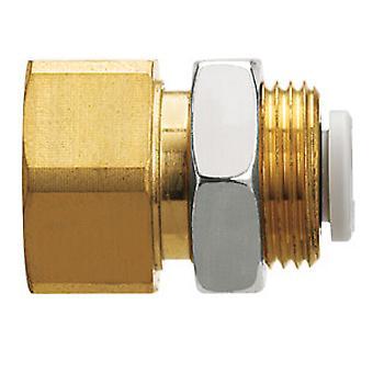 SMC Kq2E08-02A pneumatische Threaded-naar-Tube-Adapter duwen In 8 Mm Rc 1/4 vrouwelijke Bsp