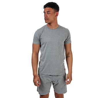 Men's Lyle And Scott Kirk Loungewear T-Shirt & Short Set in Grey