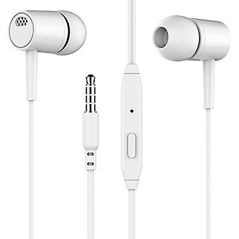 Universal 3.5mm In-ear Wired Stereo Game, Música, Auriculares deportivos con micrófono