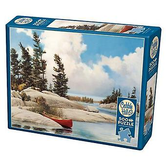 Cobble hill puzzle - a day at the lake - 500 pc