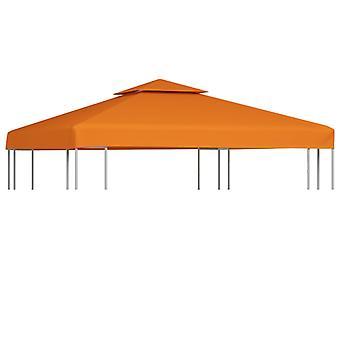 vidaXL جناح استبدال سقف 310 غرام / متر مربع تيراكوتا الأحمر 3x3 م