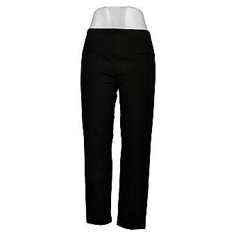 Vrouwen met Control Women&s Pants SP Petite Tummy Control Black A374340