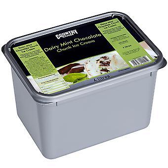 Country Range Dairy Mint Chocolate Chunk Ice Cream