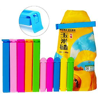 30/50 PCS Portable Sealing Bag Clips Food Snack Seal Clamp Plastic Tool Kitchen Accessories