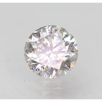 Sertifioitu 0,60 karat G SI2 pyöreä brilliant parannettu luonnon timantti 5.43mm 3VG