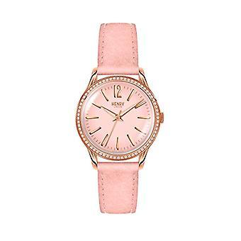 Henry London Analog Classic Quartz Wristwatch HL34-SS-0202