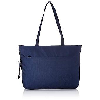 Mandarin Duck MD 20, Crossbody Bag Dames, Blauw (Jurk Blauw), 10x10x10 cm (B x H x L)