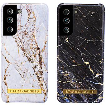 Samsung Galaxy S21 - Shell / Protection / Marble