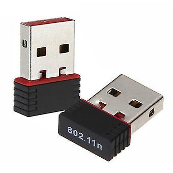 Bezdrôtový prijímač bezdrôtovej WIFI karty USB 150 Mb/s