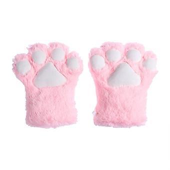Kvinder Cute Cat Kitten Paw Claw Varme handsker