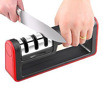 Kitchen knife sharpener - complete 3-stage knife sharpener x1485