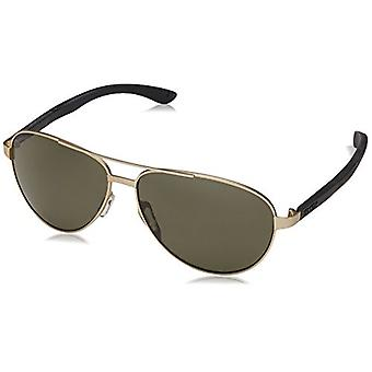 Smith Salute Sunglasses Matte Gold with Polarized Gray Green Lens