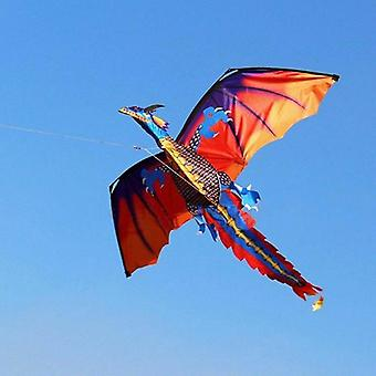 Children Kids 3d Dinosaur Kite, Single Line With Tail, Outdoor Fun Toy, Family