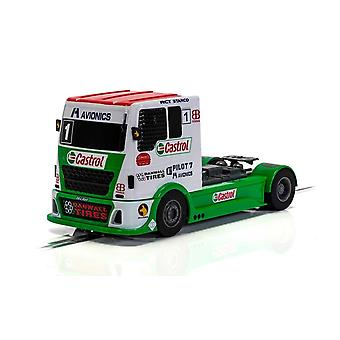 Scalextric C4156 كاسترول ليفري شاحنة سوبر المقاوم