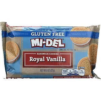 Midel Cookie Sndwch Royal Vnlla, Prípad 12 X 8 Oz