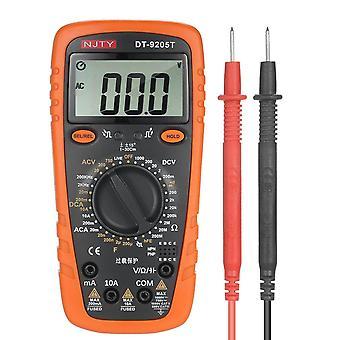 2000 Počítá vícemetrové true rms univerzální měřicí ac/dc proudový napěťový odpor