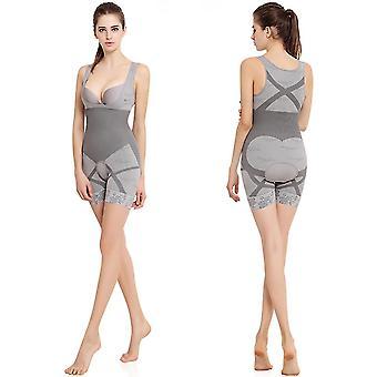 Bamboe houtskool lichaam beeldhouwen korset shapewear taille Cincher ondergoed