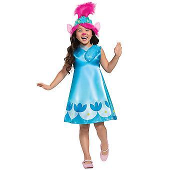 Poppy Classic Trolls World Tour Film 2 Sous licence Enfants Filles Costume S