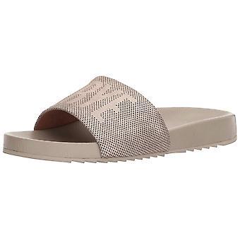 FRYE Womens Lola perf slide Open Toe Casual Slide Sandals