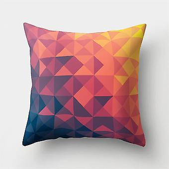 Abstrakti Wildflower Mountain geometrinen tyynyliina tyynynpäällinen 45cm * 45cm Väri3