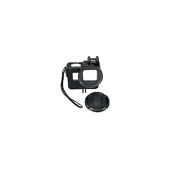Aluminum Alloy Protective Case Housing Frame 52MM VU Lens Cap for GoPro Hero 7 6 5 Action Camera