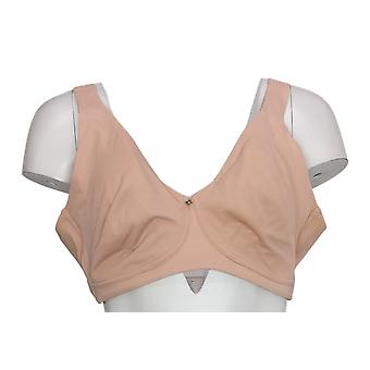 Breezies Sz42B Moderne Micro Unlined Wirefree Støtte Bh Rosa A390335