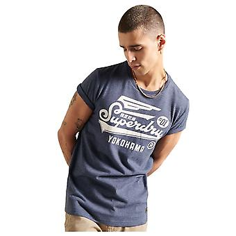 Superdry Military Graphic LW Tee Bleu