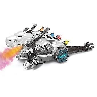 Elektrisches Spielzeug für Kinder Dinosaurierroboter für Kinder mit Nebel, Musik, Lichtern und