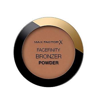 3 x Max Factor Facefinity Pronssijauhe Suljettu - 002 Lämmin Tan