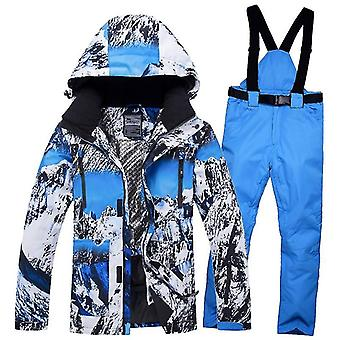 Men And Women Snowboard Hiking Ski Suits Clothes Set