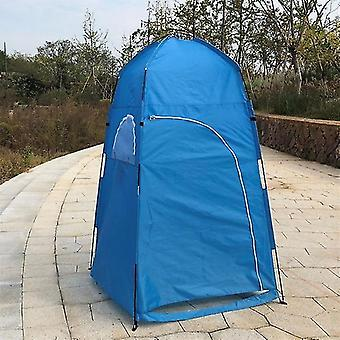 Summer Private Shower Tent For Outdoor Camping Hiking Fishing House(blue)