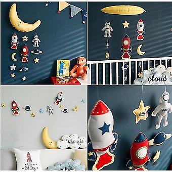 Dreamcatchers diy handmade fabric wall decoration pendant bed bell hanging room