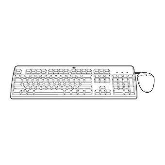 Tangentbord och mus HPE 631348-B21