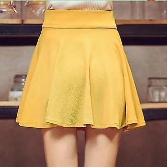 Kvinder Sport Plisseret Mini Nederdel
