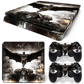 Ps4 Slim Console And Controllers Skin Sticker