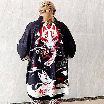 Femme Kimono Cardigan Cosplay Kawaii Soft Shirt Vêtements