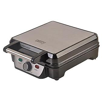 Camry Waffle Machine CR 3025 1150 W, Number of pastries 4, Belgium, black/stainless steel