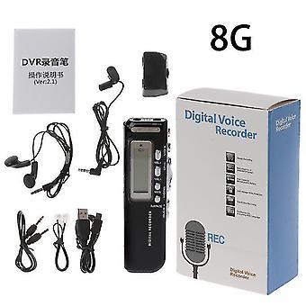 Music sound recordings 2021 professional mini usb pen digital voice recorder mp3 player dictaphone