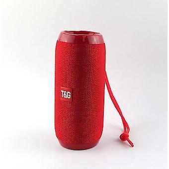 10w tragbarer Bluetooth Outdoor Lautsprecher, wasserdichter wireless Player (Rot)