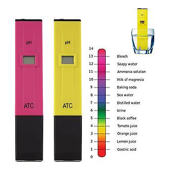 Testador de ph meter digital caneta medida de bolso LCD Spa Aquário Água Avançada